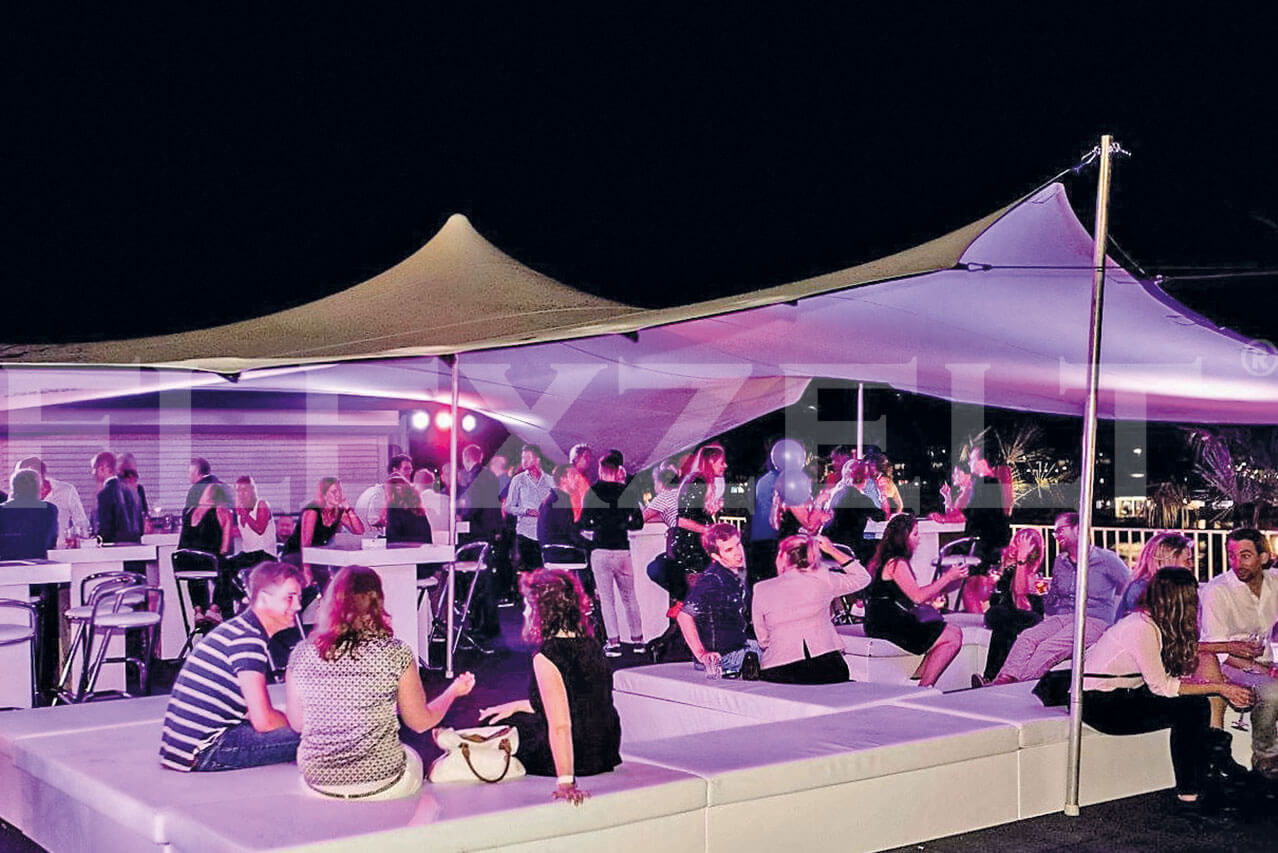 Flexzelt® - VIP Lounge - Flextent® - Area