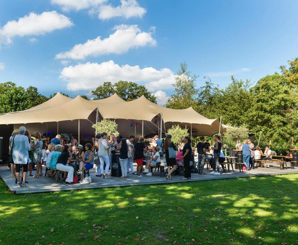 Flextent - Stretchtent - Festival - Catering