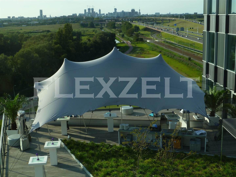 Flexzelt® - Flextent® - Stretchtent - Building