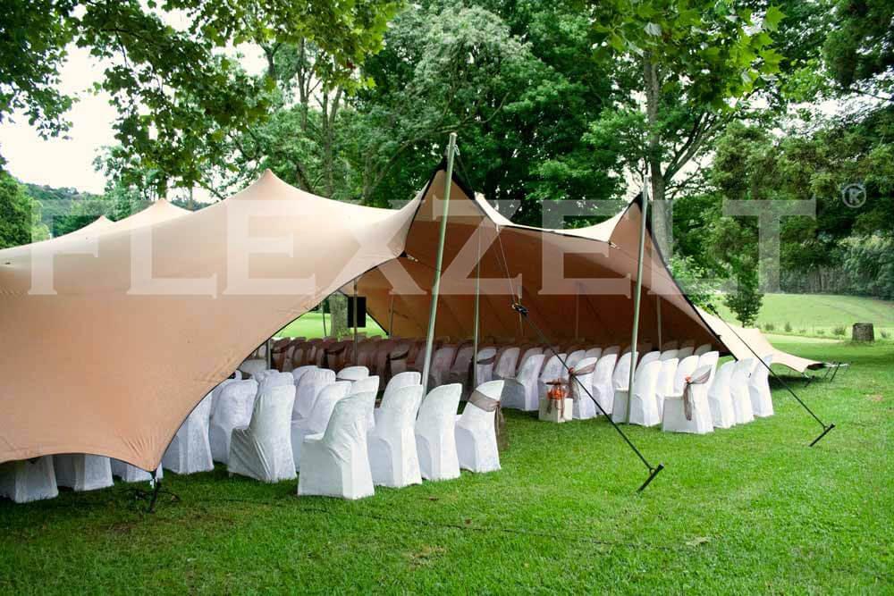 Flexzelt - Flextent - Hochzeit - Bruiloft