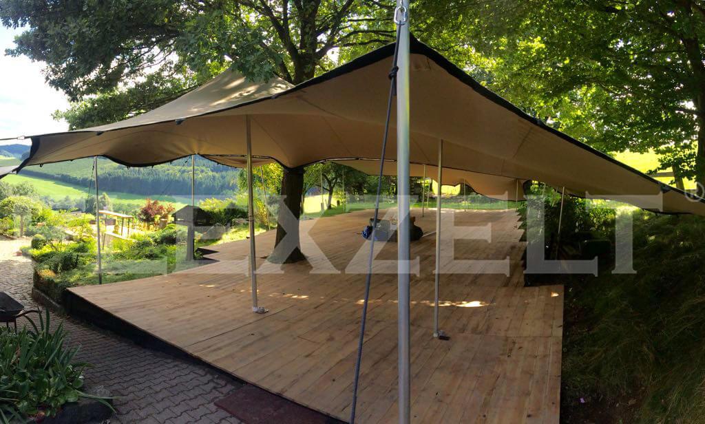 Flexzelt® - Wald Terrasse - Custom -